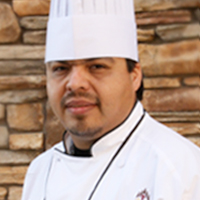 Assistant Executive Chef Andres Moncada