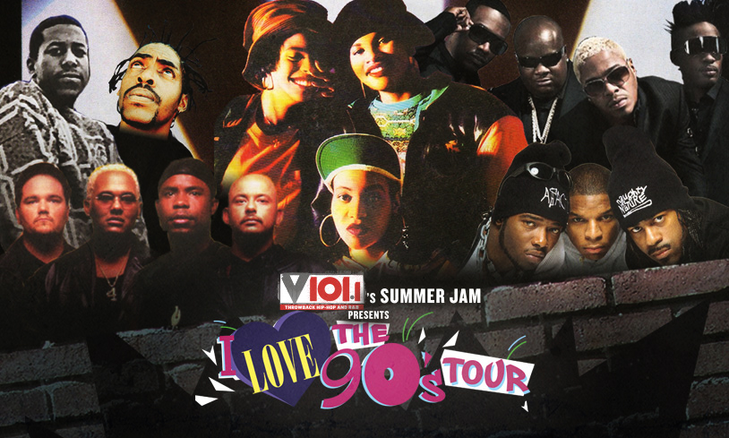 V101's Summer Jam: I Love the 90's