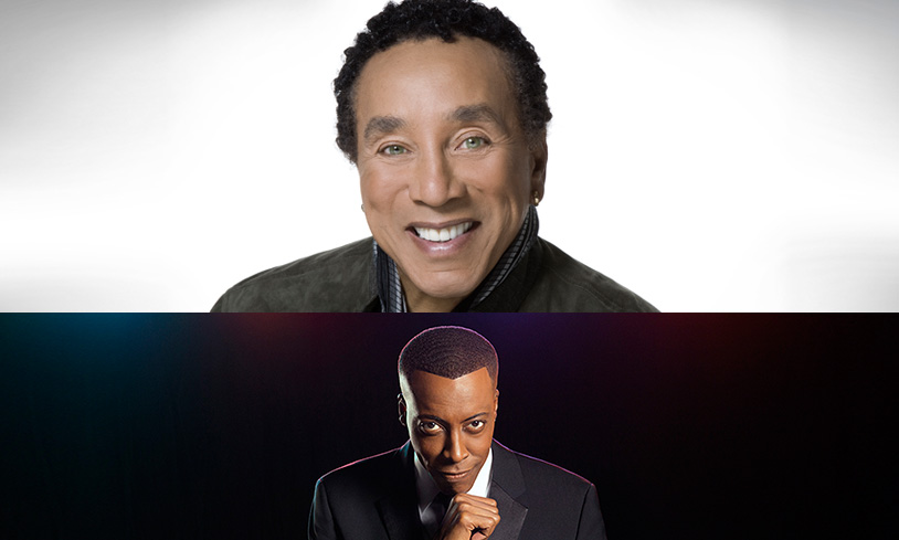 Smokey Robinson with Arsenio Hall