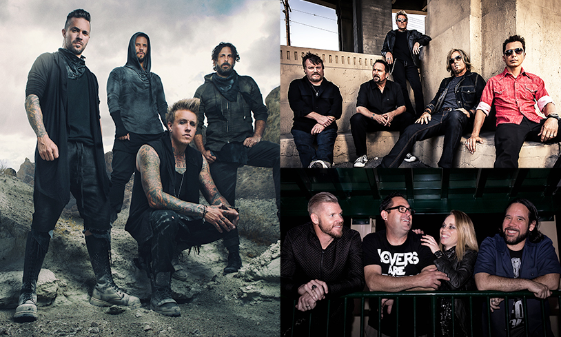 Papa Roach, Oleander & Some Fear None