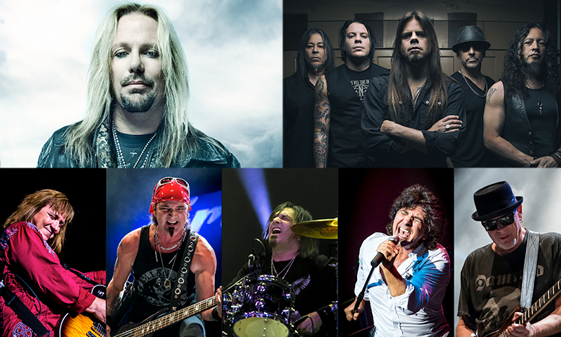 Vince Neil, Queensrÿche & More
