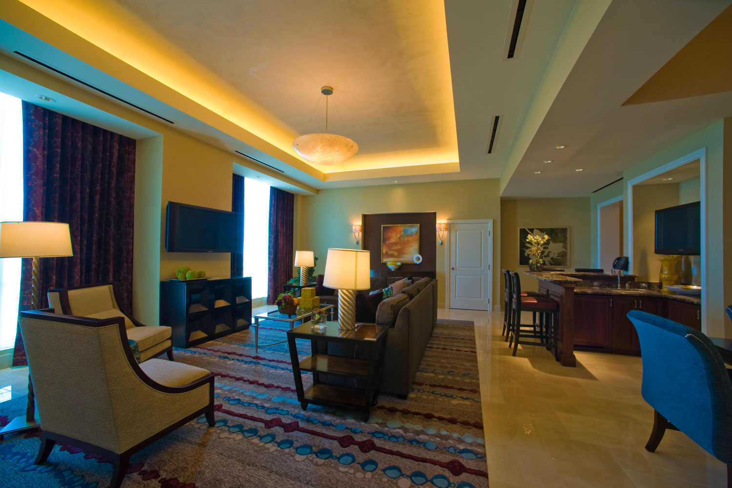 Enjoy luxury at its finest in our Tuscany Suite.