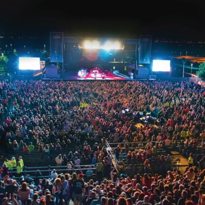 Outdoor Concerts At Treasure Island