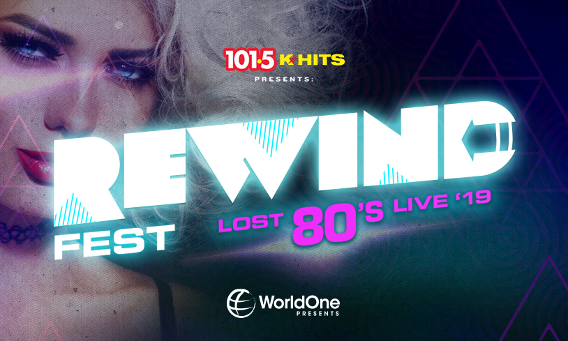 K-HITS Rewind Fest 2019 - Lost 80's Live!