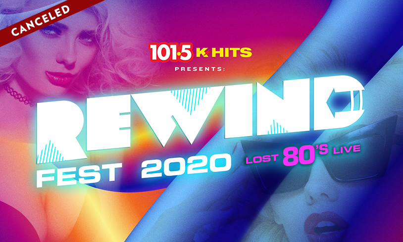 KHITS Rewind Fest 2020 Lost '80s Live